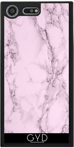 Funda Silicona para Sony Xperia XZ Premium - Efecto De Mármol De Color Rosa by wamdesign