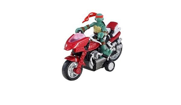 Mini Tortugas NINJA mutantes - Rafael Mini moto-cycle ...