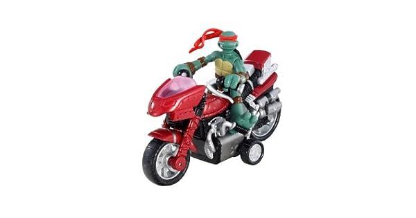 Amazon.com: TMNT Mini mutantes – Raphael Mini moto-cycle ...