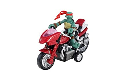 Amazon.com: TMNT Mini mutantes – Raphael Mini moto-cycle ...
