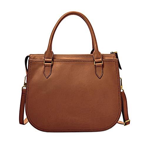 Fossil Women's Ryder Leather Satchel Purse Handbag 4