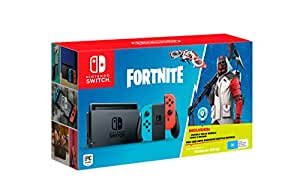 Nintendo Switch Console Fortnite Bundle
