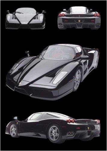 Ferrari Enzo - Poster Black Ferrari Enzo