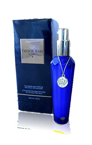 Tresor Rare De Premier Complete Age Defying Skin Care Treatments (Complete Age Defying Eye Zone Concentrate) Unique Expensive Birthday Easter Basket Filler Gift (Defying Treatment Conditioner)