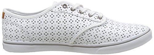Atwood para Low Mujer DX Vans Perf Circle Blanco WM Zapatillas qxvPBOCw