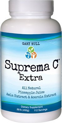 Suprema C Extra - Pineapple Flavor Gary Null .99 lb (450g) Powder by Gary Null