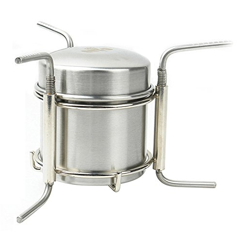 Stainless Steel Alcohol Stove Camping Stove Only 247g by Grandbuy Online Shop NA
