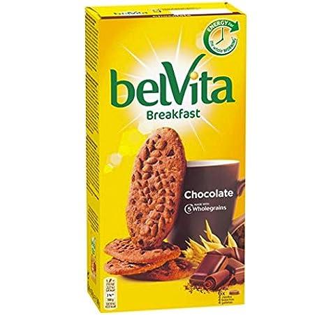 Belvita - Galletas con Chocolate y 5 Cereales Completos, Enriquecidas con Hierro, Calcio y Magnesio - Pack 6 x 4 Ud, 300 g: Amazon.es: Alimentación y bebidas