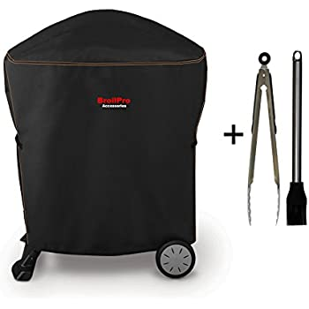 BroilPro Deluxe Grill Cover fit Weber Q 1000/2000 Grill(size as 7113#)
