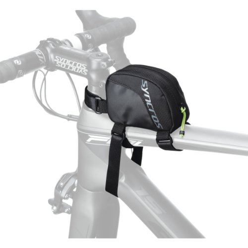 Syncros Fahrradsatteltasche Saddle Bag Frame Digital, black/grey, 11 x 8 x 4.5 cm, 0.39 Liter, 233732