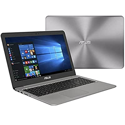 "ASUS ZenBook UX510UW-RB71 (i7-6500U, 24GB RAM, 500GB SATA SSD + 1TB HDD, NVIDIA GTX 960M 4GB, 15.6"" Full HD, Windows 10) Laptop"