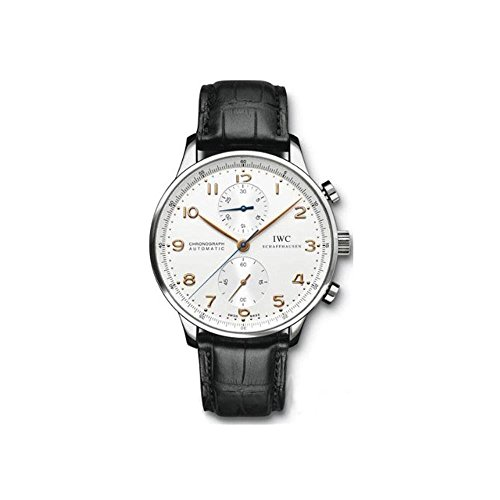 IWC Men's (IW371445) Portugieser Chronograph Automatic Watch, Black