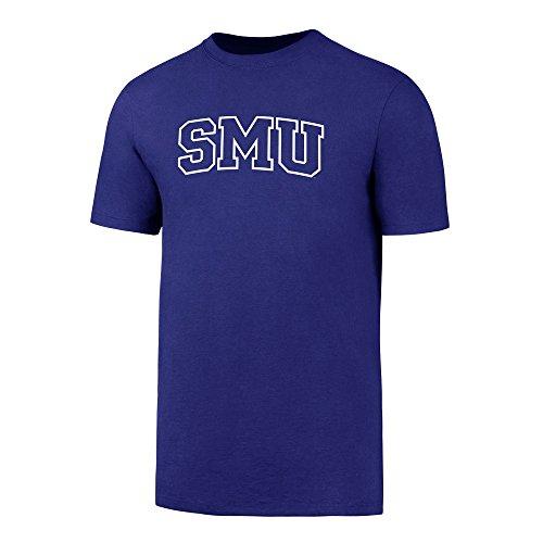 OTS NCAA SMU Mustangs Men's Rival Tee, Royal, ()