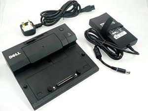 DELL E-replicador de puerto base de carga 130 W Adaptador de CA PR03X, P/N: PW380 Latitude E4200, E4300, E5400, E5500, E6400, E6400 ATG, E6400 XFR, E6500, Precision M2400, M4400, M6400