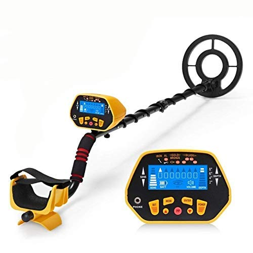 Barry Century Metal Detector Kit with Waterproof Search Coil,Handheld LCD Display Metal Finder Treasures Seeking Tool,Suitable for Easy Travel Kids and Adults(Quality Assurence)
