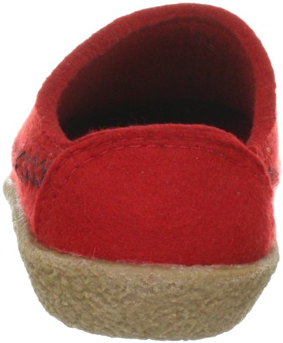 Slippers Credo Blizzard Haflinger Rot 0 11 Rubin q7aZwft