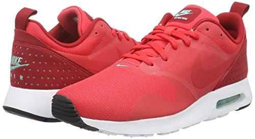 action Red Scarpe Nike Rosso Red white Da Basse Max Air action Tavas Red gym Uomo Ginnastica qqtxzF6gw