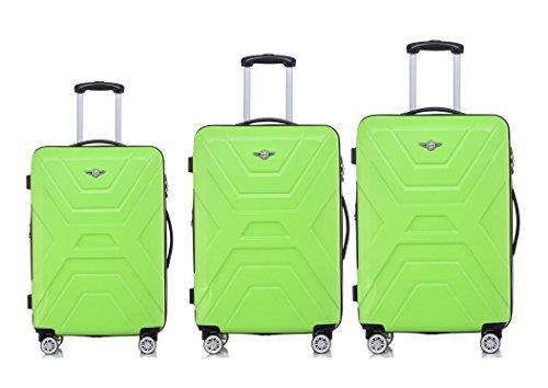 Rivolite New 3 Piece Lightweight Luggage Set:20