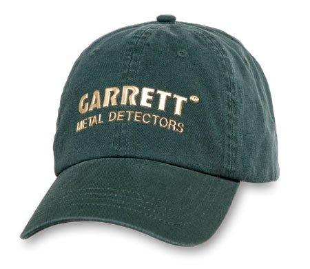 Logo Hobbies Cap - Garrett Metal Logo on Hunter Green Ball Cap