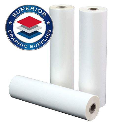 Superior Graphic Supplies PET Laminating Film Roll Premium Quality - 5 Mil(0.005