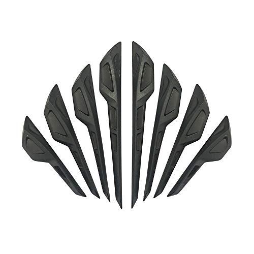 (idain 8 PCS Universal Anti-Collision Patch Bumper Guard Strip Rear View Mirror Anti-Scratch Bumper Protector Trim for Cars)