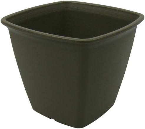アイリスオーヤマ 鉢 ライズスクエアポット 300 ハーブグリーン
