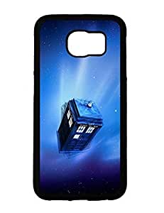3635909M916316646 Galaxy S6 Case, Doctor Who Police BoX Anime Image Hardshell Case Cover for Samsung Galaxy S6