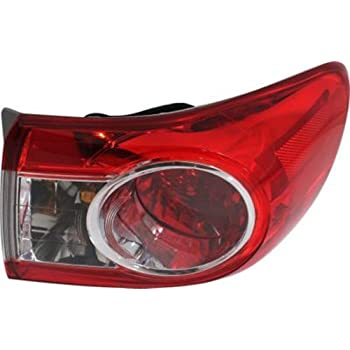 Turn Signal Bulbs Lights & Lighting Accessories Replacement Depo 312-19A8L-AF,312-19A8R-AF Driver and Passenger Side Tail Light for 2011 Toyota Corolla