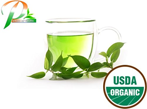 Pride Of India - Organic Immune Support (Tulsi Green) Tea, 1.5oz Gourmet Handmade Jar (Makes 25 Cups)