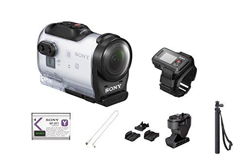 Sony HDR-AZ1VR 11.9MP 1080p Wi-Fi Waterproof Action Camera W