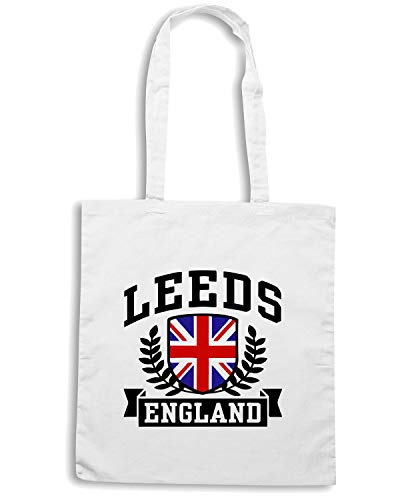 Speed Shirt Borsa Shopper Bianca TSTEM0051 LEEDS ENGLAND