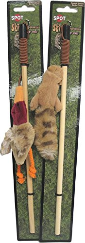Ethical Skinneeez Forest Friends Wand Cat Toy (Toy Pet Skinneez)