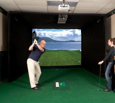 ES1100 Par T Golf Indoor Golf Simulator New