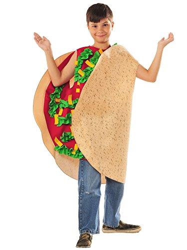 Rasta Imposta Taco Child Childrens Costume, 7-10, Multicolor -