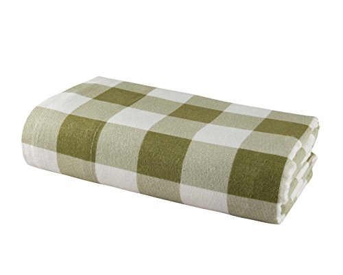 DELANNA Flannel Flat Sheet 100% Brushed Cotton 1 Top Sheet Only 80