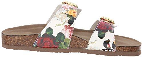 887865298632 - Madden Girl Women's Brando Flip Flop, White/Multi, 7.5 M US carousel main 6