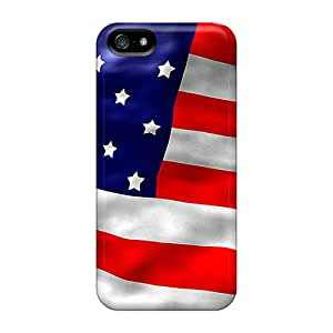 IS-4196-uUCMt American Flag Fashion Tpu 5/5s Case Cover For Iphone