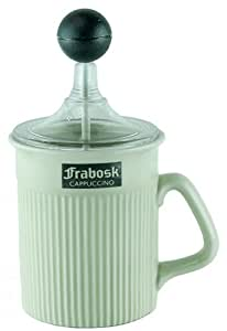 """Frabosk """"Faenza"""" Cappuccino / Milk Frother, 14 Fl Oz/ 0.41 lt"""