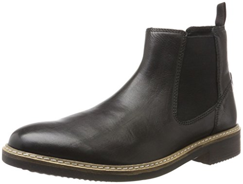 Nero Top Clarks Leather Uomo Stivali Blackford Chelsea Black w5wf7XAqx