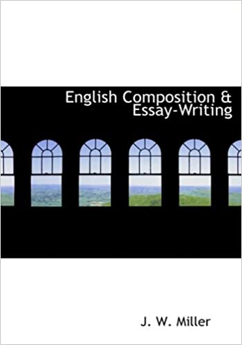 Amazoncom English Composition  Essay  J W  English Composition  Essay Large Print Edition