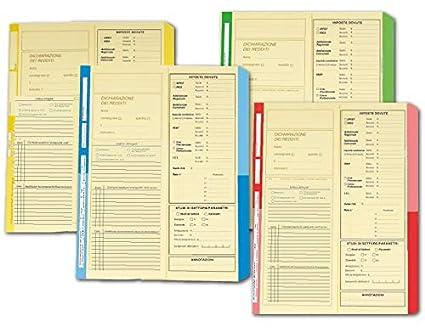 conf 4company 4175 01 Cartelline Dichiarazione Redditi blu 50 pezzi