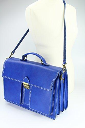 En Sacoche Porte Design Bag document B Belli® Italien Cuir Unisexe nbsp; ZKSA1q