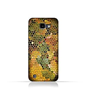 LG K4 2016 TPU Silicone Case with Stained Glass Art Design