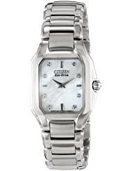 Citizen Womens EX1190-58D The Signature Collection Eco-Drive Fiore Watch