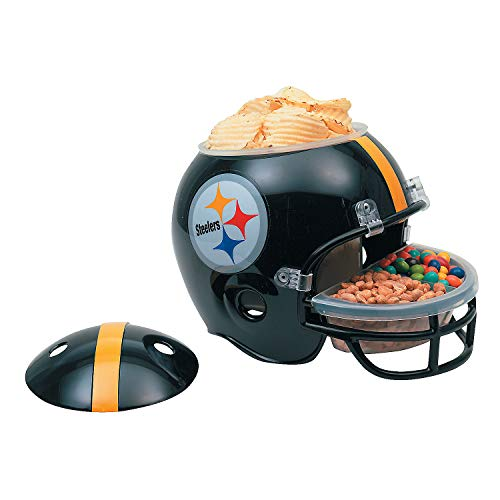 Fun Express - Nfl Pittsburgh Steelers Snack Helmet for Party - Party Supplies - Licensed Tableware - Misc Licensed Tableware - Party - 1 Piece