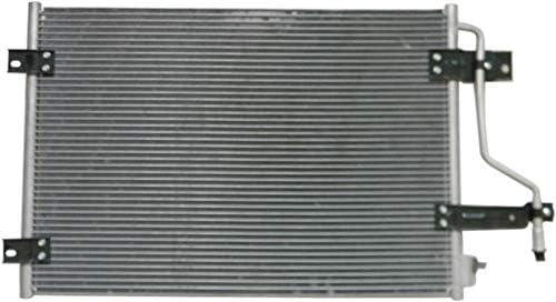 A//C Condenser Compatible with 1998-2002 Dodge Ram 2500 Ram 3500 Aluminum Core