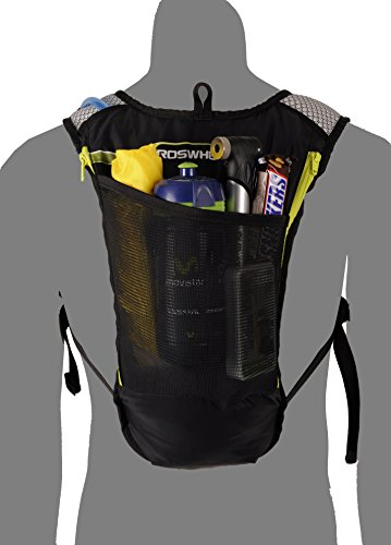 Roswheel 15937 Hydration Backpack with 2 L BPA Free Water Bladder, Green by Roswheel (Image #5)