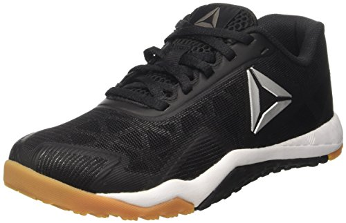 reebok pure Noir Ros Basses Rubber black Gum Femme Workout 2 Sneaker Reebok white 0 Silver Tr vAqF4