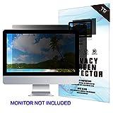 23''W Inch Privacy Screen Filter for Desktop Computer Widescreen Monitor - Anti-Glare, Blocks 96% UV,Anti-Scratch with 16:9 Aspect Ratio