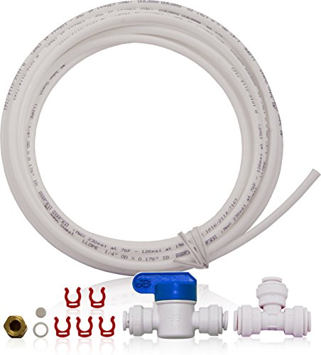 APEC Water Systems ICEMAKER-KIT-RO-1-4 Ice Maker Kit for Reverse Osmosis Systems, Refrigerator & Water Filters by APEC Water Systems
